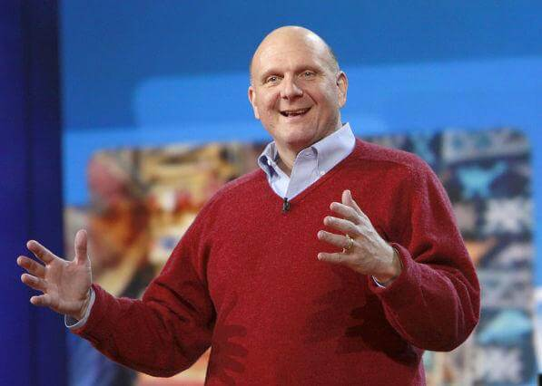 The Godfather, a First Google Employee, Steve Ballmer and Microsoft