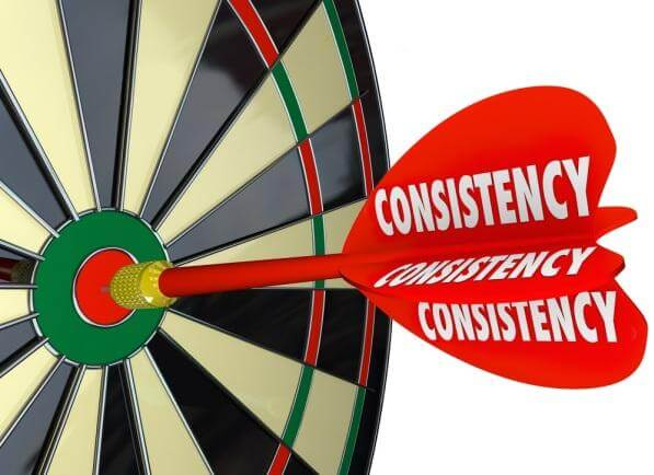 Consistency Is More Important than Brilliance