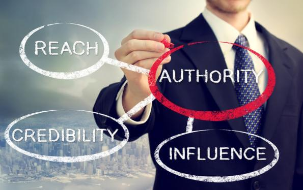 You need to be seen as an authority.