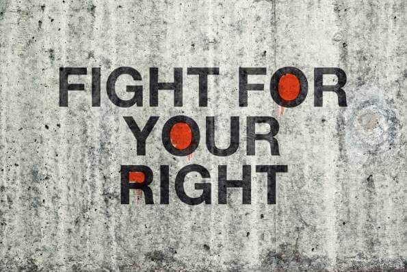 Fight for your right to work.
